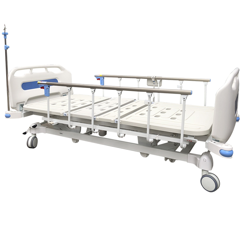 SK002-5EC Five Functions Icu Electric Hospital Medical Care Bed