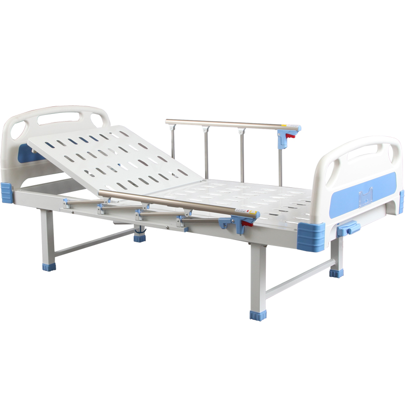SK026-2 Manual Crank Medical Treatment  Folding Hospital Bed