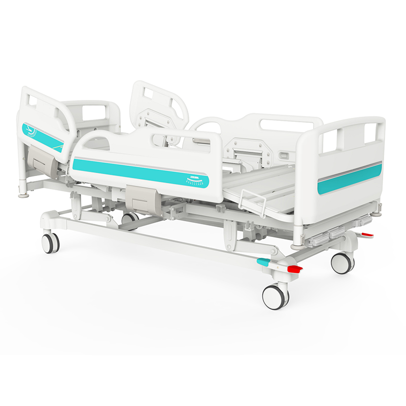 Y3y8c Manual Crank Medical Treatment  Folding Hospital Bed