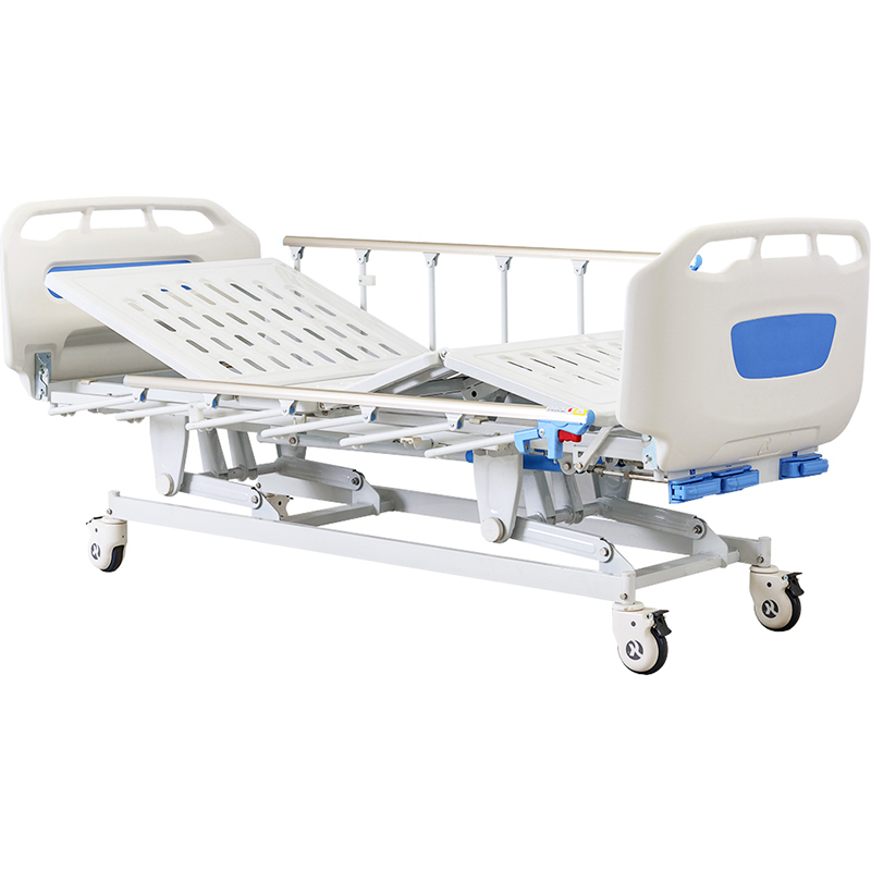 D3w Folding Bed For Patient With Foldable Side Rail