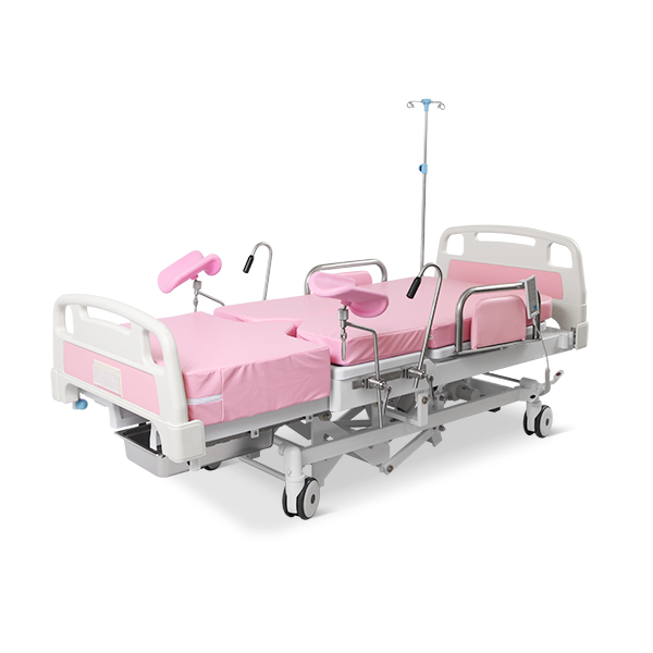 A98-3Q Hospital Gynecology Adjustable Obstetric Delivery Couch Bed