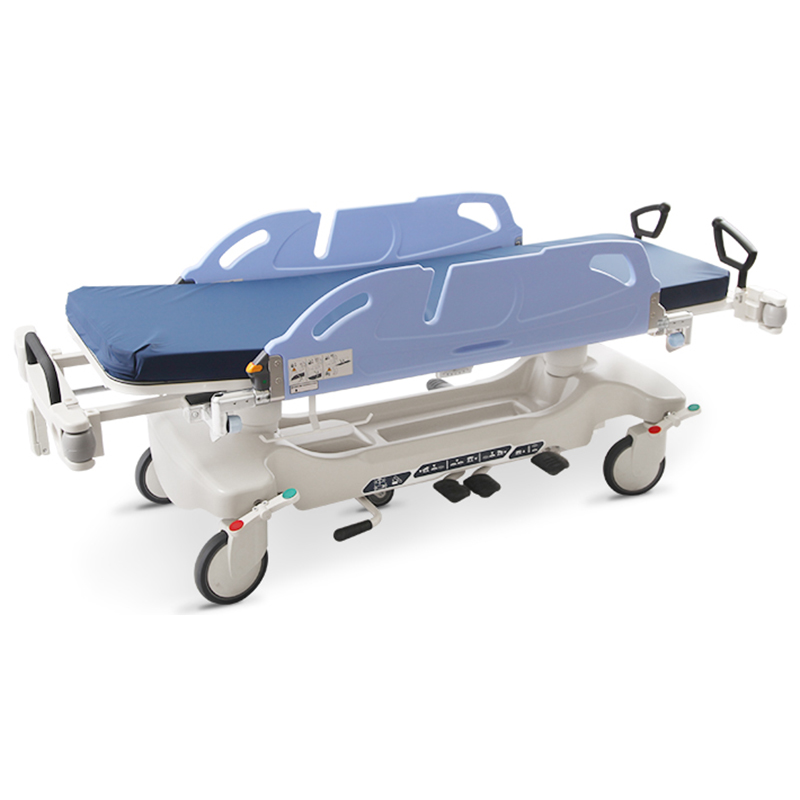 SKB041-10 Hospital Medical Equipment Patient Transfer Trolley