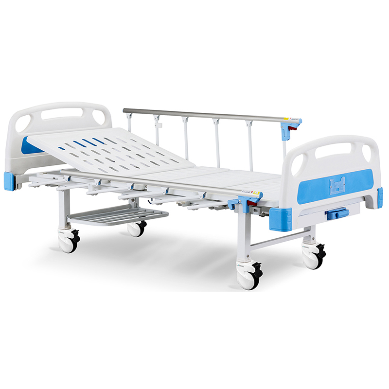 A1w Adjustable Manual Crank Bed With Siderail