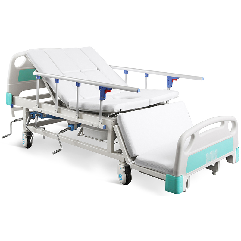 SK-A07 4 Crank Manual Icu Medical Hospital Used Bed
