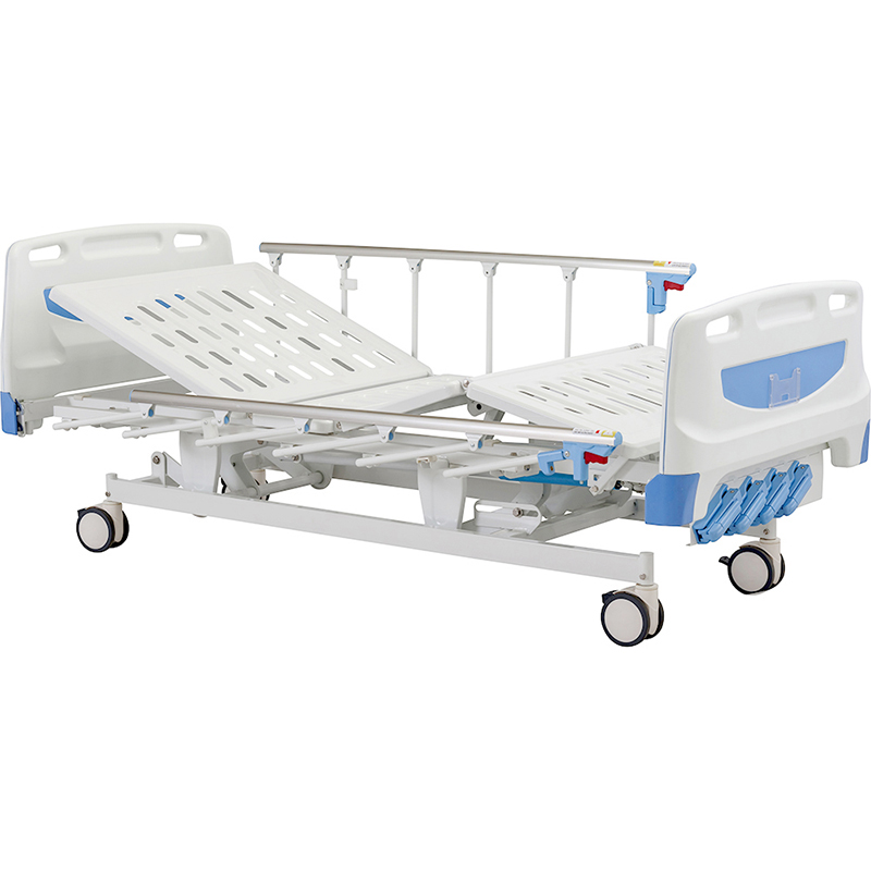 F4w 4 Crank Manual Hospital Patient Clinic Bed For Sick