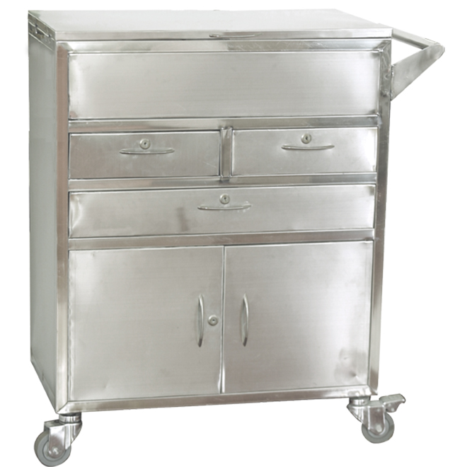SKH021 Metal Treatment Medical Trolley