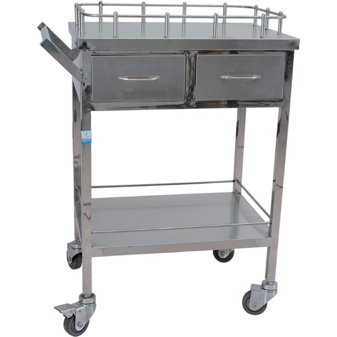 SKH017-2 Cheapest Medical Emergency Treatment Trolley