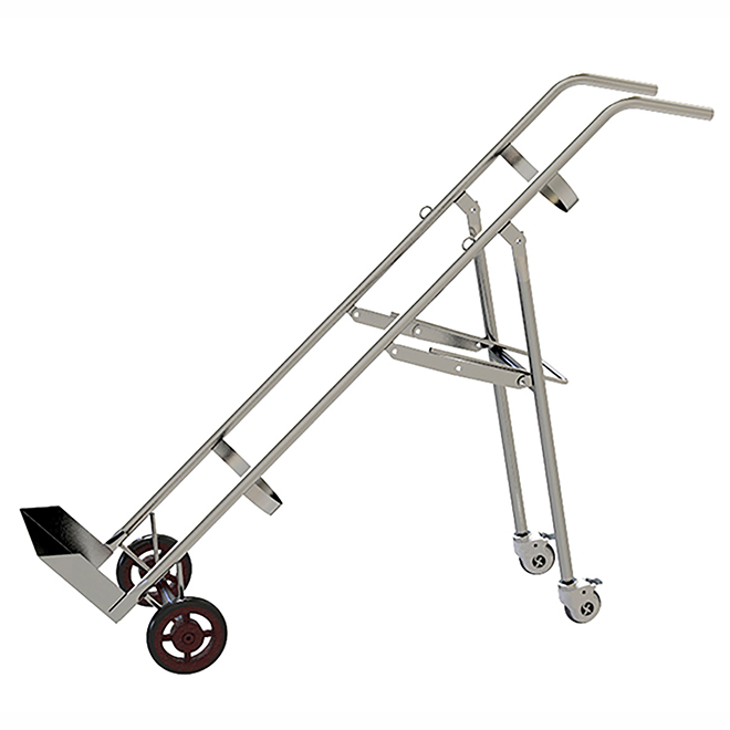 SKH048 Double Feet Oxygen Bottle Trolley