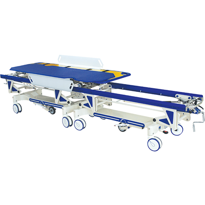 SKB041-B Connecting Adjustable Patient Trolley